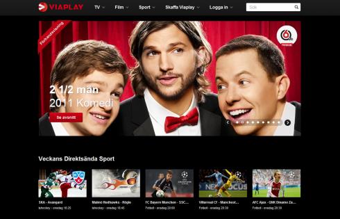 Viaplay fotboll i din PC-dator och TV